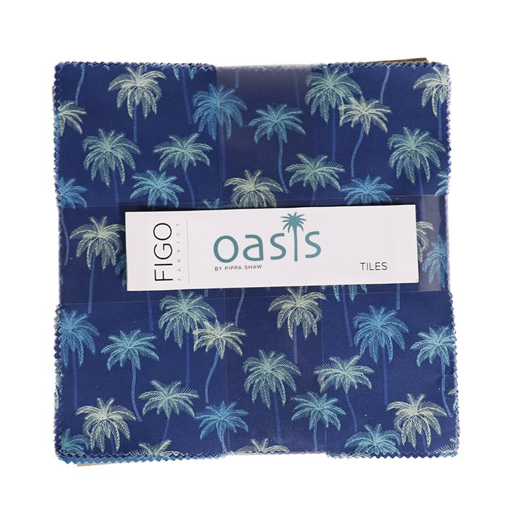 Ten Inch Tiles - Oasis by Pippa Shaw