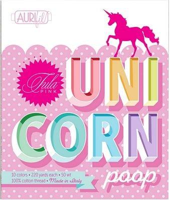 Aurifil - Tula Pink - Unicorn Poop