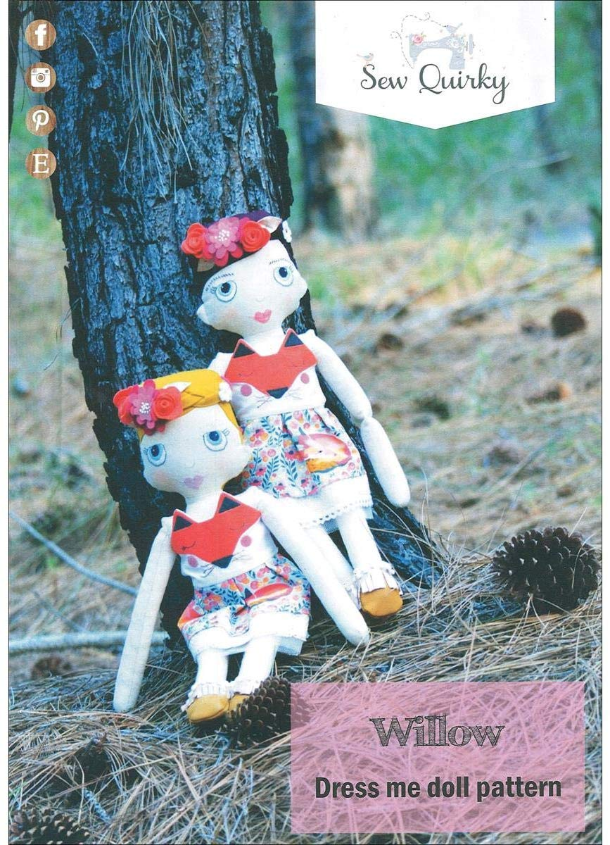 Sew Quirky - Willow Dress Me Doll Pattern