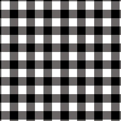 Warp & Weft 2 | Checkerboard in Black/White