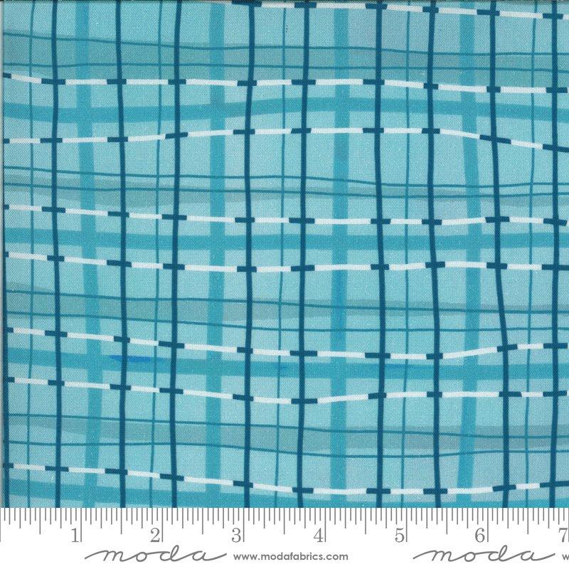 Lakeside Story | Plaid Blanket in Freshwater