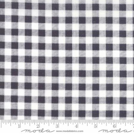 Gingham in Charcoal