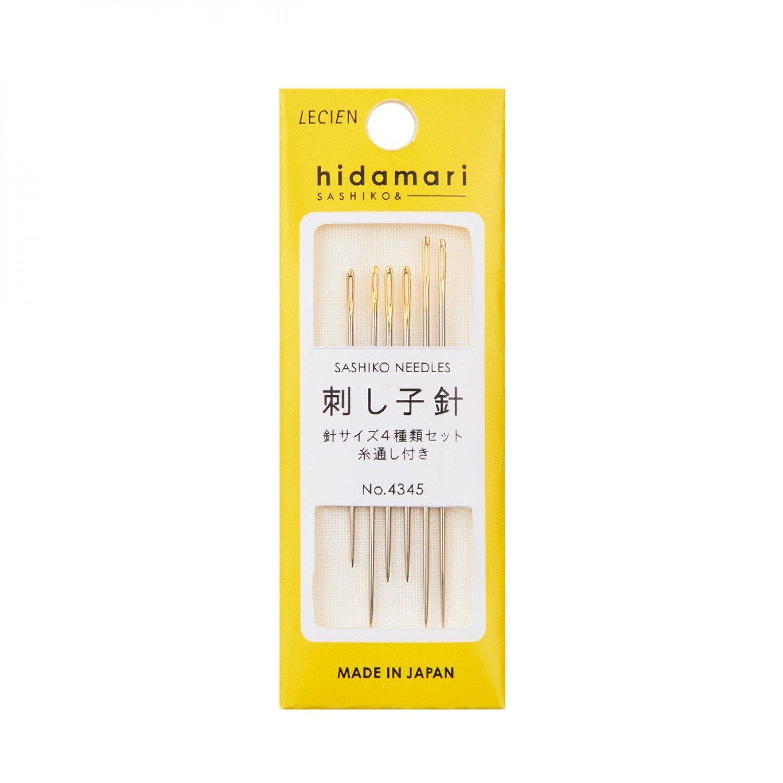 Cosmo Hidamari Sashiko Assorted Needle Set