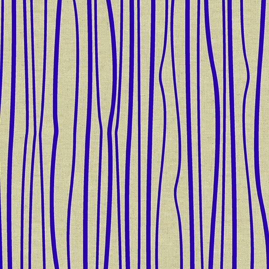 Seagrass Linen Blend in Cobalt