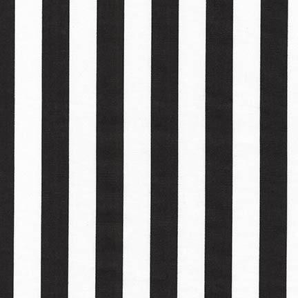 Panache Stripe in Black