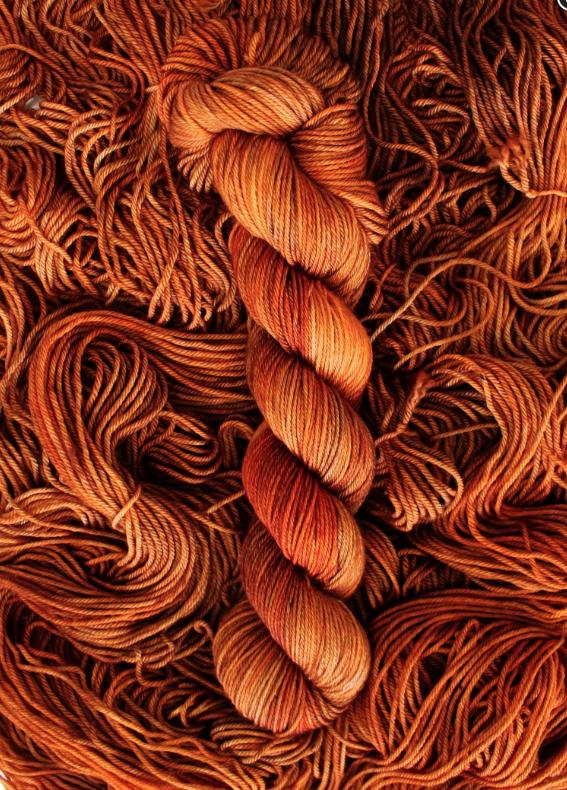Stitch Dreamy DK in Burnt Offering