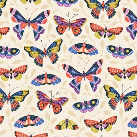 Bohemian Garden Butterfly Bloom