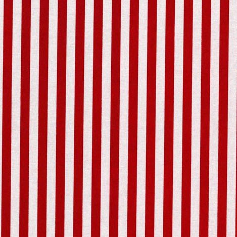 Clown Stripe in Red - FQ