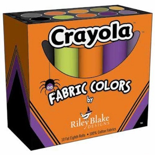 Crayola Fat Eights Halloween Box