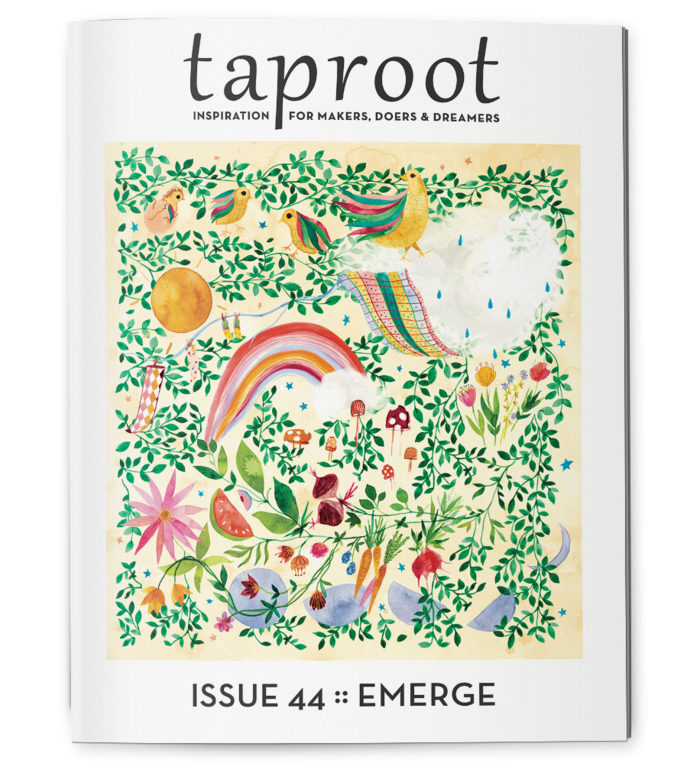 Taproot | Issue 44: Emerge
