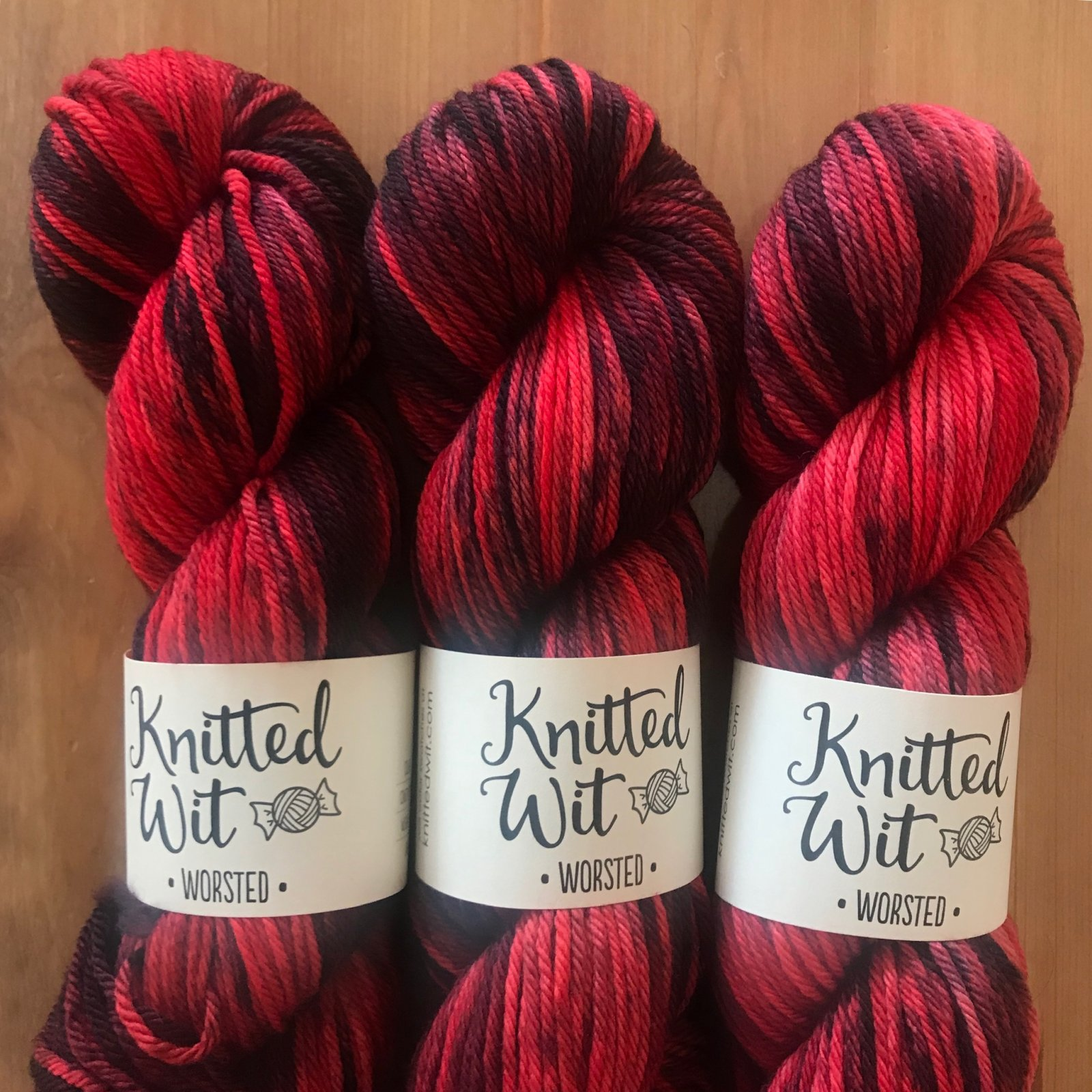 KW Worsted in Ember Eye