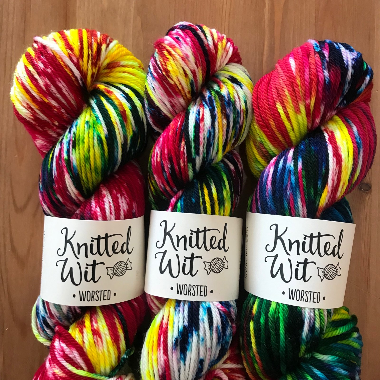 KW Worsted in Melted Crayon
