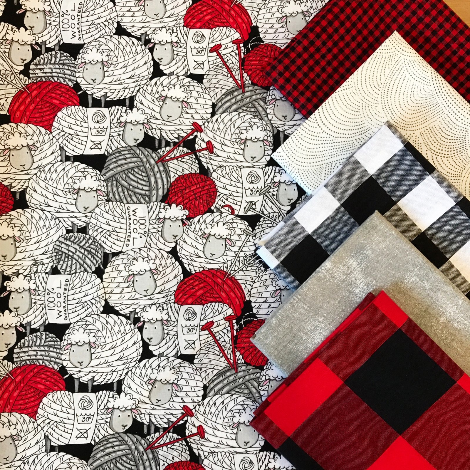 Purls & Plaid FQ Bundle - 6 Pieces