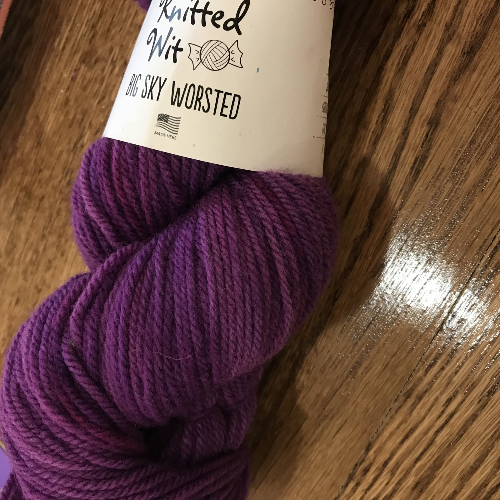 Big Sky Worsted in Thistle