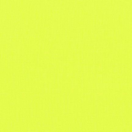 Kona Cotton in Acid Lime - FQ