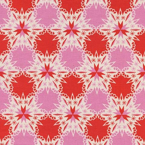 Noel Kaleidoscope in Red