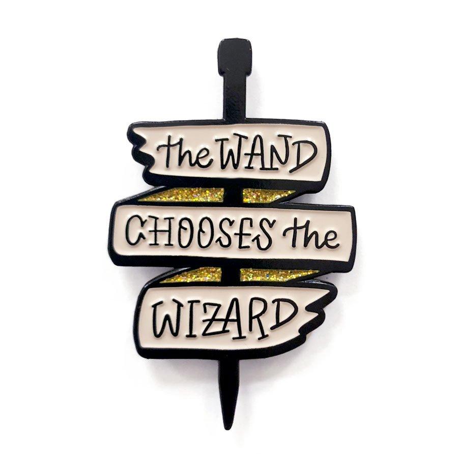 Wizard Wand Pin - Sew