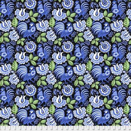 Mini Kerchief in Blue