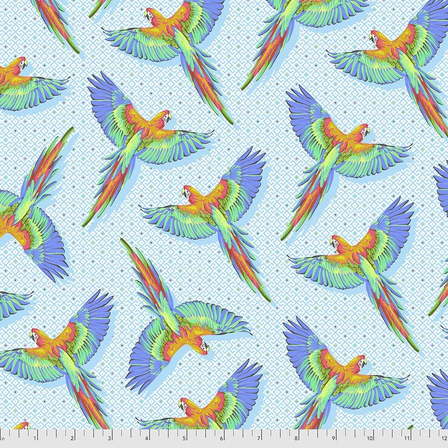 PREORDER | Daydreamer | Macaw Ya Later - Cloud | Tula Pink | PWTP170.CLOUD