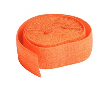 5/8 Fold Over Elastic - Pumpkin