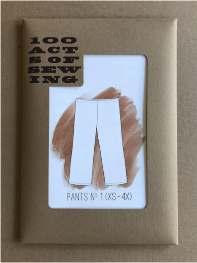 100 Acts of Sewing | Pants No. 1