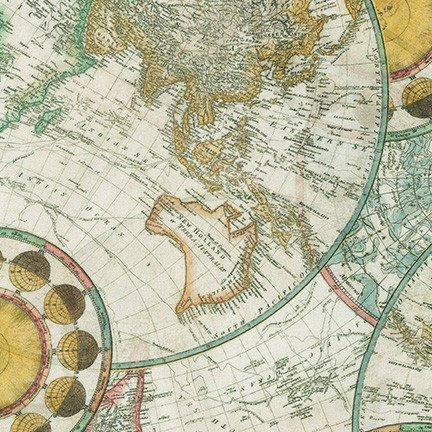 Library of Rarities | Maps in Antique