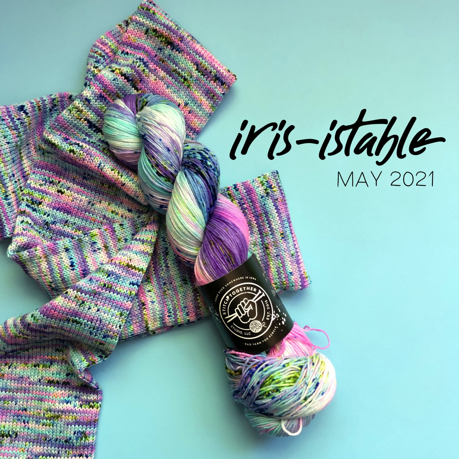 Stitch Classic in Iris-istable (May 2021)