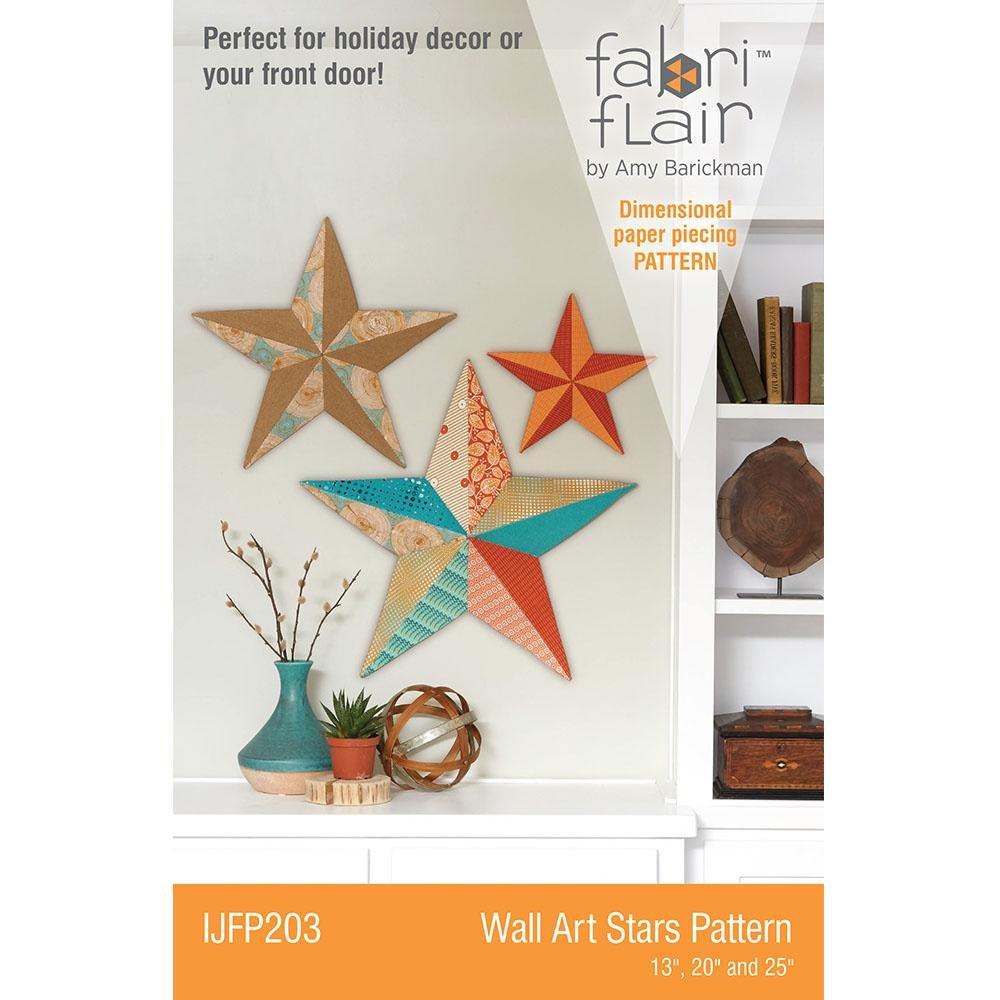 Wall Art Stars Pattern