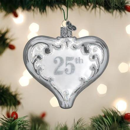 Old World Christmas 25th Anniversary  Ornament