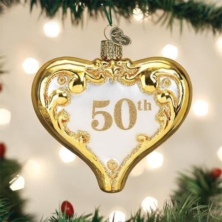 Old World Christmas 50th Anniversary  Ornament