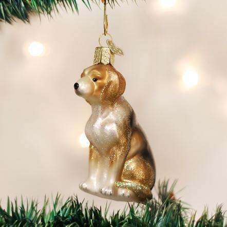 Old World Christmas Beagle Ornament