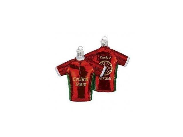 Old World Christmas Bicycle Jersey Ornament