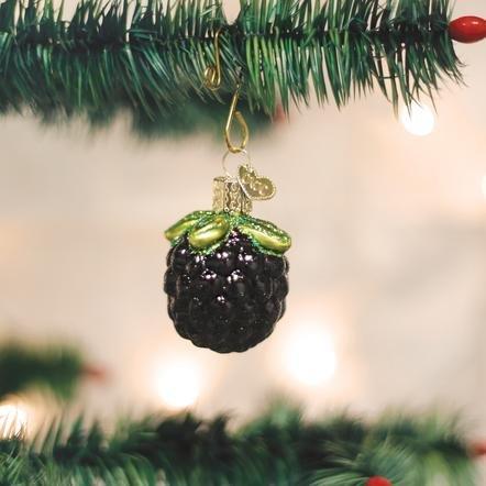 Old World Christmas Blackberry Ornament