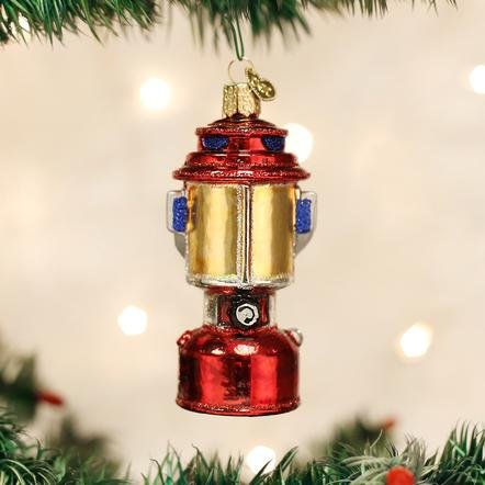 Old World Christmas Camping Lantern Ornament