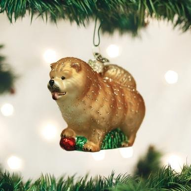 Old World Christmas Chow Chow Ornament