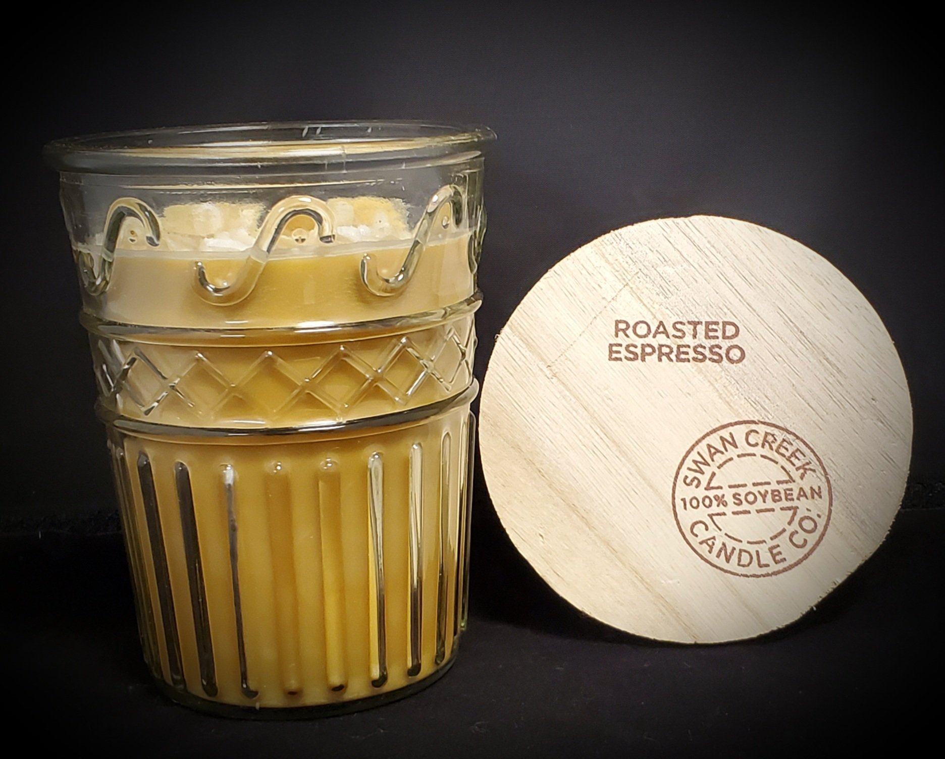 Swan Creek Candles Timeless Jar - Roasted Espresso