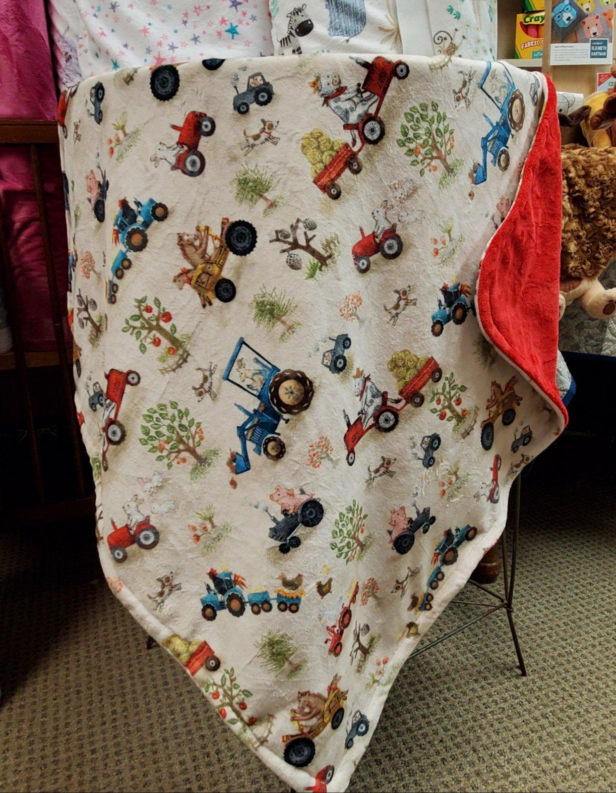 Cuddly Blanket Kit - Farm Animals