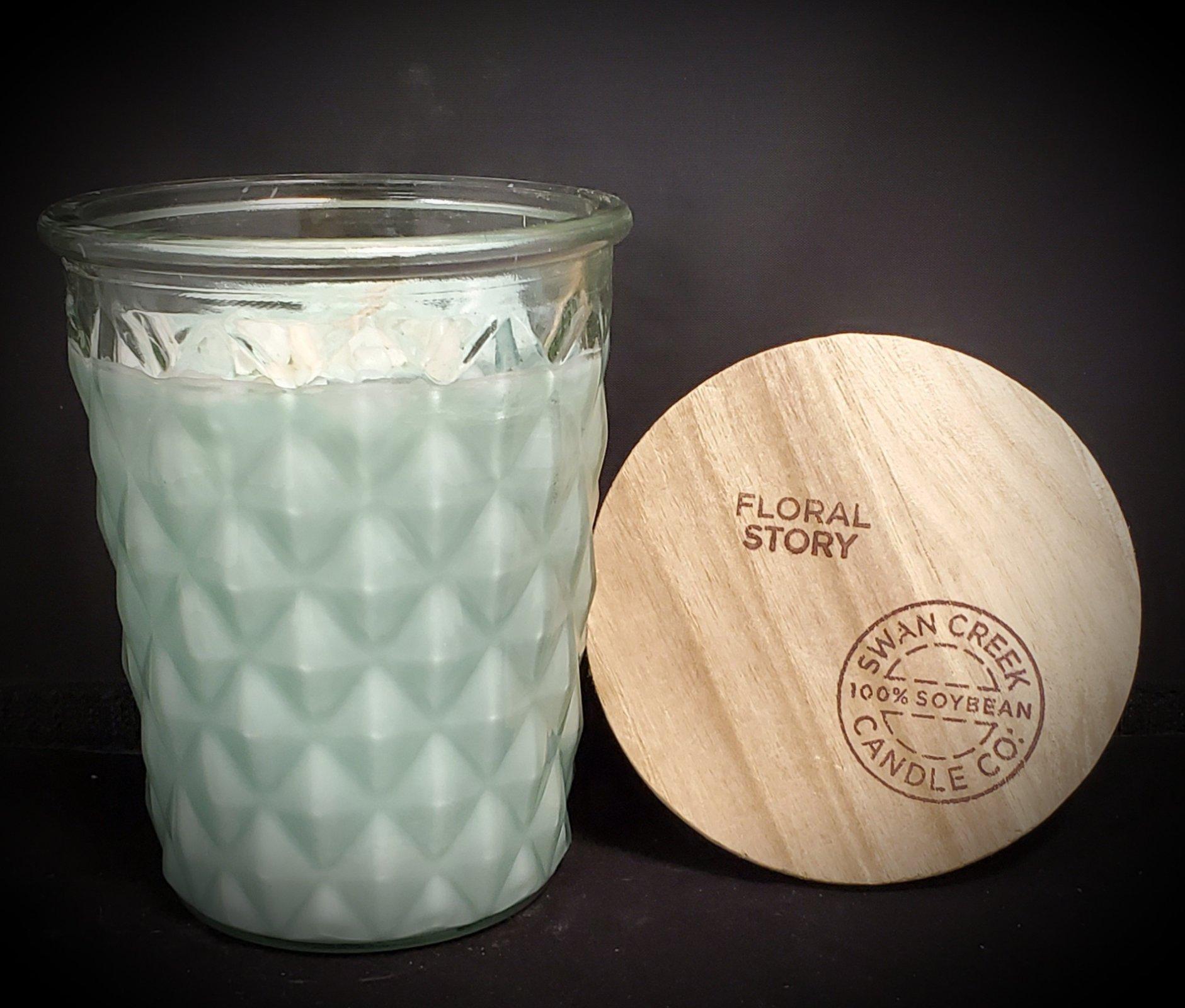 Swan Creek Candles Timeless Jar - Floral Story