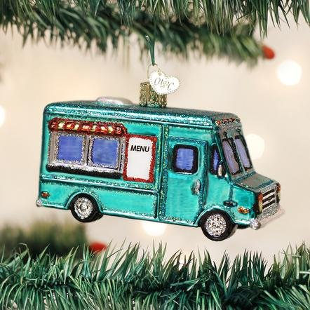 Old World Christmas Food Truck Ornament
