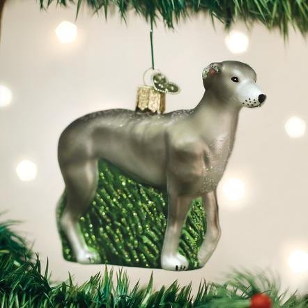 Old World Christmas Greyhound Ornament