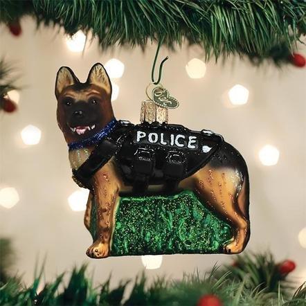 Old World Christmas K-9 Dog Ornament