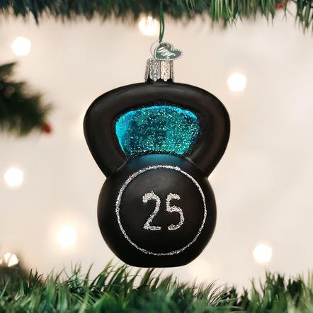 Old World Christmas Kettlebell Ornament
