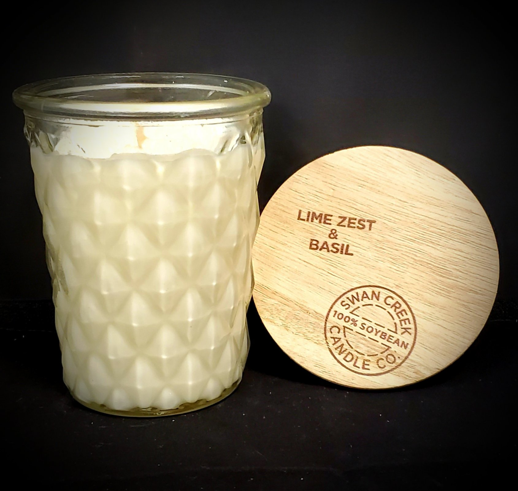 Swan Creek Candles Timeless Jar - Lime Zest & Basil