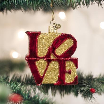 Old World Christmas Love Ornament
