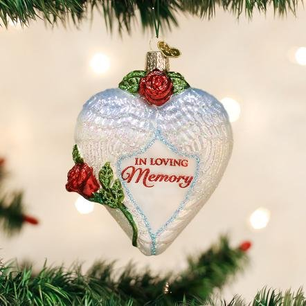 Old World Christmas In Loving Memory Ornament