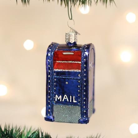 Old World Christmas Mail Box Ornament