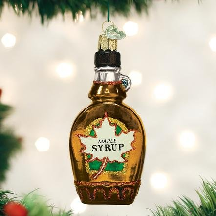 Old World Christmas Maple Syrup Ornament