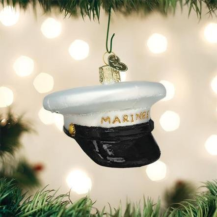 Old World Christmas Marine Cap Ornament
