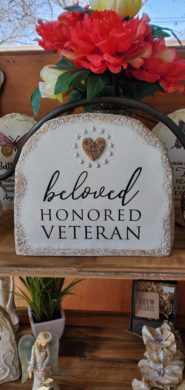 Memorial Veteran Stone