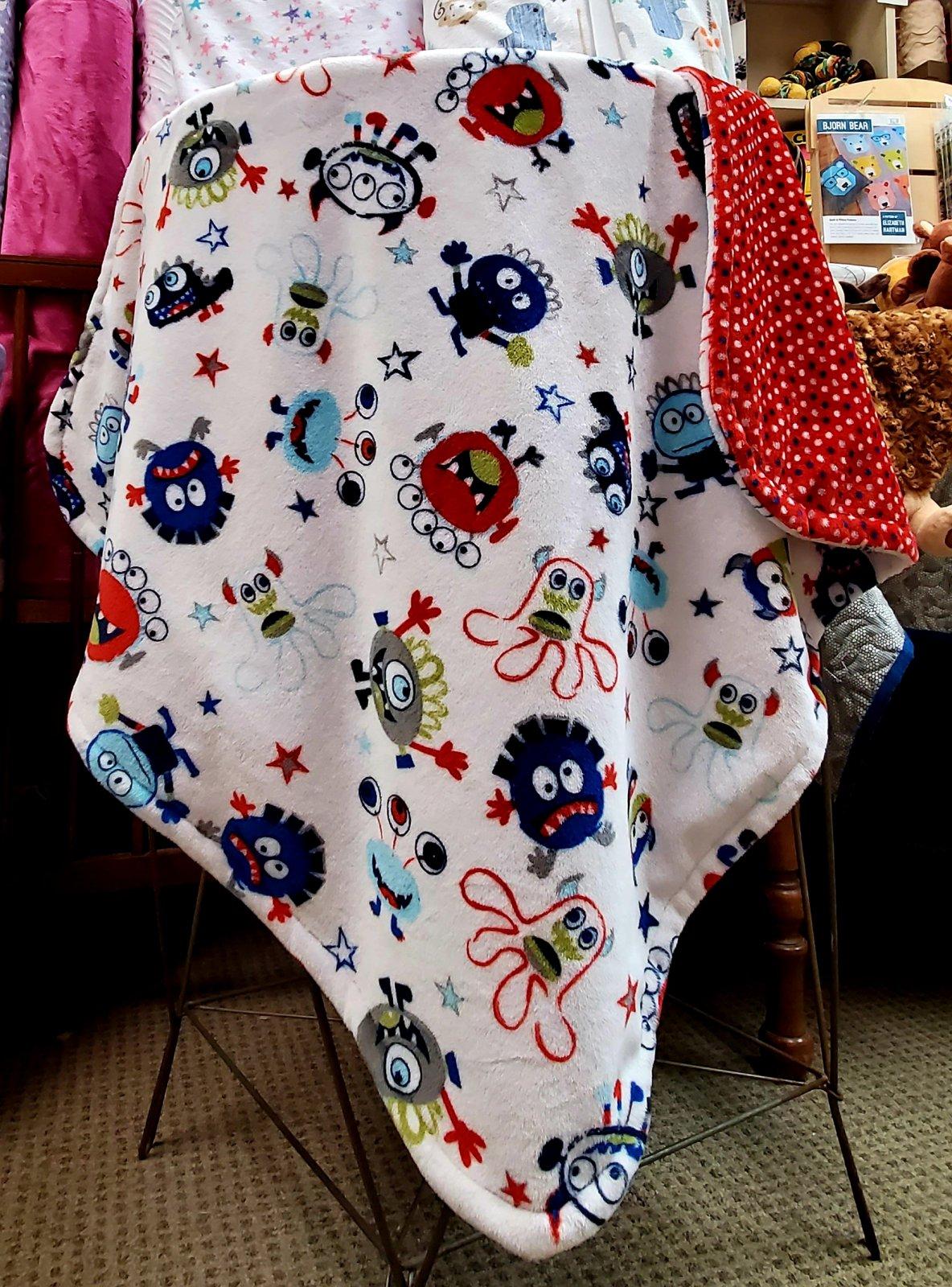 Cuddly Blanket Kit - Monster